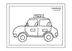 Rôzne dopravné prostriedky - omaľovánky. - Aktivity pre deti, pracovné listy…