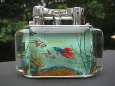 My favourite product of all time, the Dunhill Aquarium, the Epoch of British Deco Design....