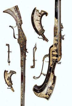 Duke Maximilian I's Bavarian wheellock: