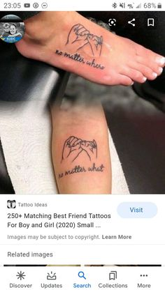 Matching Cousin Tattoos Boy And Girl : matching, cousin, tattoos, Tattoos, Ideas, Tattoos,, Tattoo, Designs
