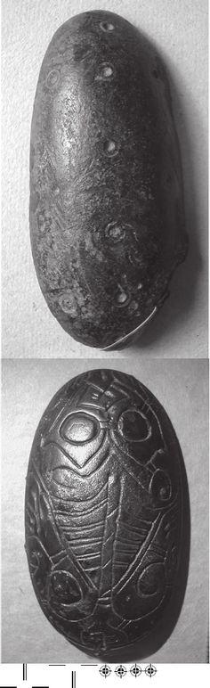 Fig. 5a. ype N1a. NO-N Sandvik, grave 7. L 55mm. rondheim 18648a. Photo MR  Domed oblong brooches of Vendel Period Scandinavia | Martin Rundkvist - Academia.edu