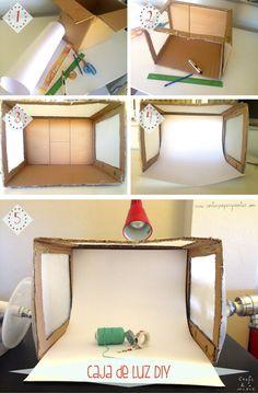 Caja de luz DIY_ tutorial