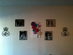 my wall art! just need to add my candles to my sconces