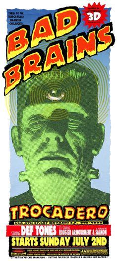 GigPosters.com - Bad Brains - Deftones, The - Roguish Amorment - Salmon