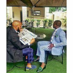 Dapper Men!  Featuring: @uchennaji & @ericarubayi  #style #fashion #lifestyle #mensfashion #mensstyle #dapper #dappermen #menssuits #tie #dandy #streetstyle #streetfashion  #blazer #suits #gentlemen  #lookbook #instafashion #sneakers #mensshoes #shoegame #loafers #inspiration  #Steevane #SV