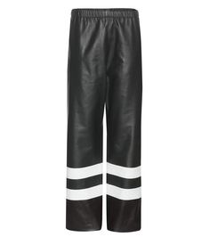 CALVIN KLEIN COLLECTION Leather trousers. #calvinkleincollection #cloth #trousers