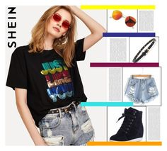 """""""Shein contest"""" by maria-notte on Polyvore featuring moda e Oris"""