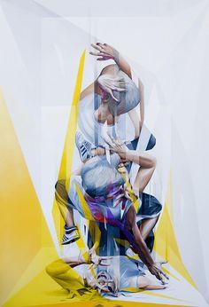 El arte renacentista y el futurismo se unen en la obra de Vesod
