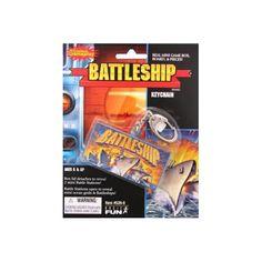 Battleship Board Game Key Chain Keychain Basic Fun New   eBay