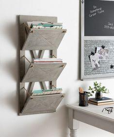 Wall Pocket Organizer, Wall File Holder, Hanging File Organizer, Hanging File Folders, Office Wall Organization, Office Decor, Office Wall Design, Cozy Office, Hanging Files