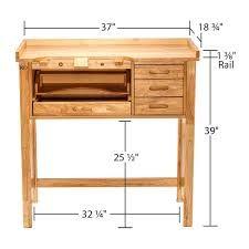 Rio Grande Jeweler's Workbench Adjustable Height Workbench, Small Workbench, Workbench Stool, Workbench Height, Workbench Plans Diy, Workbench Organization, Building A Workbench, Workbench Designs, Woodworking Workbench