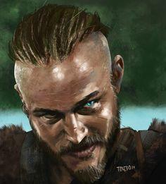 Ragnar, Fabián Toledo on ArtStation at https://www.artstation.com/artwork/86Z6O