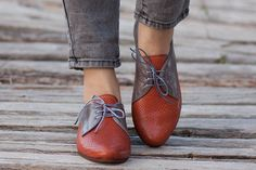 Spedizione gratuita, scarpe in pelle di cammello, scarpe Oxford cammello, scarpe strette, Scarpe piatte, scarpe cammello
