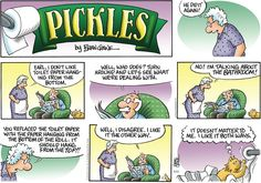 Pickles by Brian Crane Sunday, May 11, 2014  The Eternal Enigma.