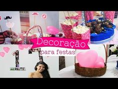 DICAS DE DECORAÇÃO BARATA PARA FESTA por Ingrid Gleize - YouTube