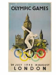 Vintage Olympic Posters