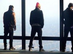 Thirty Seconds To Mars <3 at the Sears (Willis) Tower Chicago