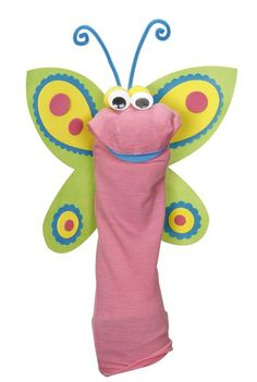 Butterfly Sock Puppet at Joann.com