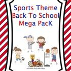 Are you ready for a new year of teaching? Then kick off your year with this sports theme pack. It is filled with everything you need to score a touchdown for your new school year! ($7.00)