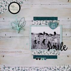 Hello everyone, this week I have a layout to share created using the fab collection Sea Breeze by Kaisercraft. I just love the wood gra. Scrapbook Patterns, Baby Scrapbook Pages, Scrapbook Designs, Scrapbook Page Layouts, 12x12 Scrapbook, Scrapbook Paper Crafts, Scrapbooking Ideas, Wedding Scrapbook, Photo Layouts