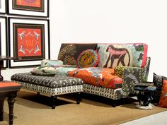 Textiles and furniture by Ardmore, South Africa. Image Source katcameronillustration.com