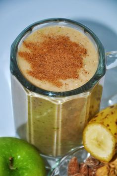 Great Blender Recipes: Banana Apple Crisp Smoothie