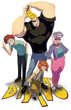 Artist Gives Classic Cartoons From The '90s A Makeover - DesignTAXI.com