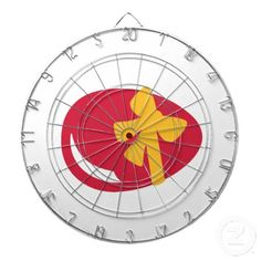 Easter egg bow dartboards