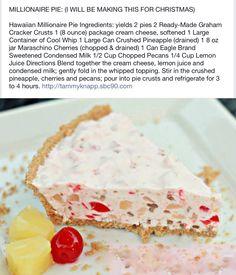 #pie #shop #atlanta #buckhead #slice #dessert #yum #sweet #baking #kitchen #tradition #sweet #savory #lunch #pieshop #wedding #birthday #specialorder www.the-pie-shop.com Christmas Bread, Christmas Pies, Christmas Foods, Christmas Crafts, Merry Christmas, Sweet Recipes, Cake Recipes, Millionaire Pie, Cream Cheese Danish