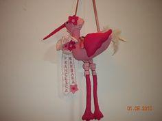 Felt stork