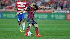 Andrés Iniesta #FCBarcelona #Iniesta #8