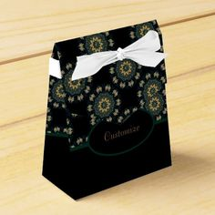 Shop Chic Gold & Green Asian Style 2 Favor Box created by BlueRose_Design. Japanese Party, Ribbon Colors, Vinyl Lettering, Favor Boxes, Asian Style, Party Printables, Corporate Events, Colorful Backgrounds, Favors