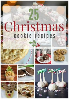 Making Christmas cookies is one of the best parts of The Holidays! Check out these 25 delicious recipes with your family this year!