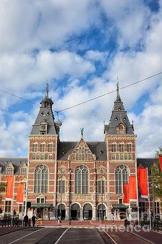 Rijksmuseum in Amsterdam, Netherlands, North Holland.