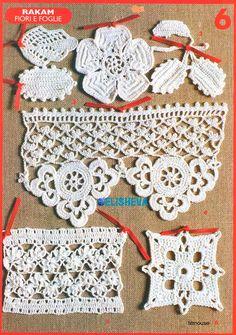 Мини-платье из шикарных ажурных мотивов крючком от Vanessa Montoro. Схема