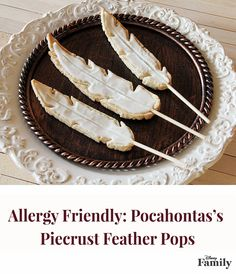 In tribute to the Powhatan princess's love of nature, these whimsical allergy-friendly treats are fashioned after her light feathery earrings. Coconut oil and coconut milk lend them a wonderful nondairy flavor. Find the entire delicious recipe over at Disney Family!