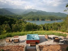 Fontana Lake Cabin: Lake View/dock Access W Breathtaking Views Of Smoky Mtns - VacationRentals.com amazing view, expensive, house just okay