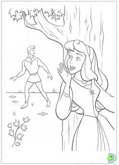 coloriage la belle au bois dormant Disney Coloring Pages, Coloring Pages To Print, Coloring Book Pages, Coloring Pages For Kids, Coloring Sheets, Adult Coloring, Aurora Disney, Sleeping Beauty Coloring Pages, Disney Colors