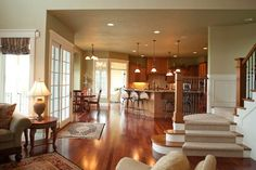 Finley Country Luxury Home   Pinterest   Woods  Stone fireplaces and     Plan 95008RW  Impressive Open Floor Plan