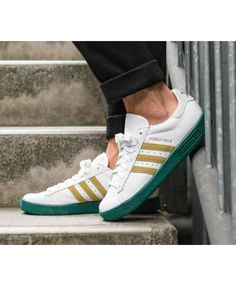new styles 18f1d 57556 Adidas Forest Hills White Gold Metallic Green Shoes Forest Hill, Green Shoes,  Adidas Superstar