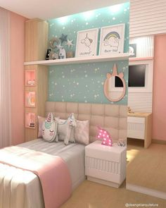 39 fabulous pink girls bedroom ideas to realize their dreamy space 1 Interior Design Girl Bedroom Designs Bedroom design Dreamy Fabulous Girls Ideas Interior pink Realize Space Pink Bedroom Design, Pink Bedroom For Girls, Girl Bedroom Designs, Small Room Bedroom, Bedroom Decor, Bedroom Images, Teen Bedroom Colors, Bedroom Simple, Bedroom Rustic