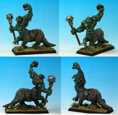Realm of Chaos: An 80s Warhammer Enthusiast Blog: The Second Golden Goblin Painting Competition Entries    A rare painted Zoat.