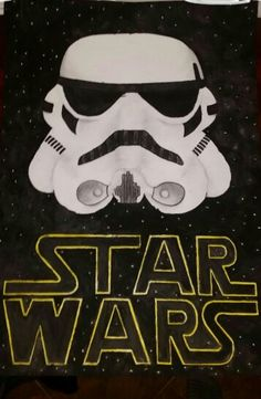 Awesome Star wars painting!  Star wars Stormtrooper