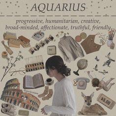 Astrology Aquarius, Age Of Aquarius, Zodiac Signs Astrology, Zodiac Signs Aquarius, Libra, Aesthetic Fashion, Aesthetic Clothes, Aquarius Aesthetic, Aesthetic Collage
