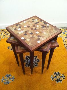 Mosaic Table ~ Picture