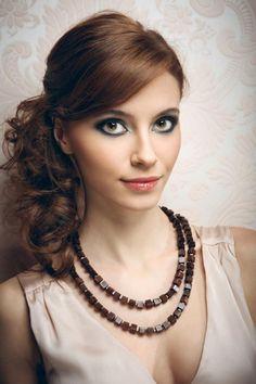 Ideen für Abiball-Frisuren lange haare-glamouröser Auftritt