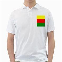 Kurdistan Kurd Kurds Kurdish Flag Golf Shirts by Onesevenart