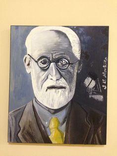 S Freud, neoexpressionismo, acrilic on canvas, atelier j h monteiro, arte contemporanea