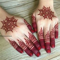 Henna Hand Designs, Mehndi Designs Finger, Henna Tattoo Designs Simple, Basic Mehndi Designs, Mehndi Designs For Beginners, Mehndi Designs For Girls, Wedding Mehndi Designs, Mehndi Designs For Fingers, Mehndi Design Pictures