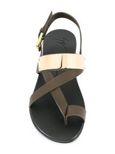 7a66549b03c9 Giuseppe Zanotti Design Zak sandals Low Heel Sandals